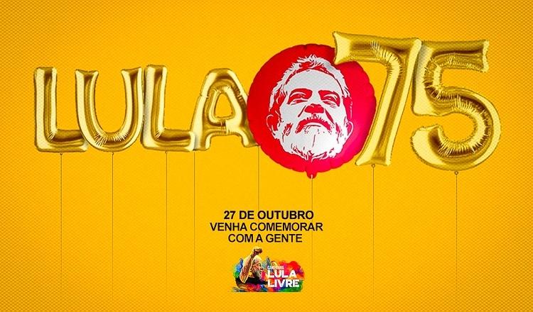 No aniversário de Lula, PT e movimentos sociais realizam atividades no Brasil e no mundo